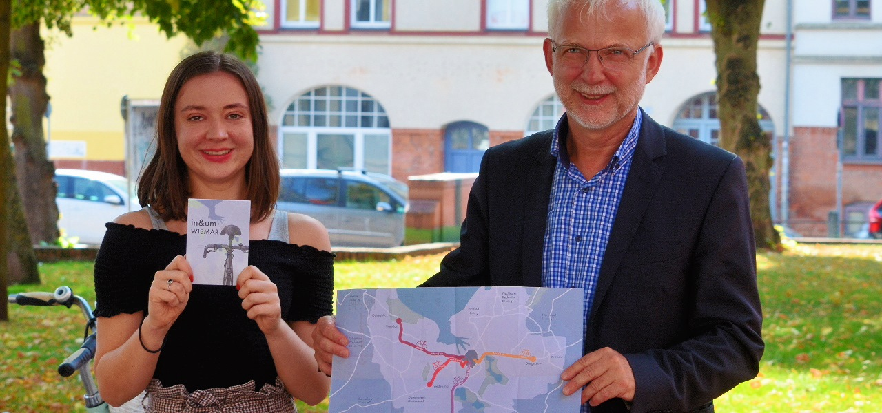 """""""Fahr' Rad"""": Neuer Flyer wirbt in Wismar für das Radfahren"""